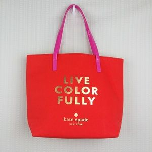 Kate Spade | Like New Live Color Fully Tote Bag
